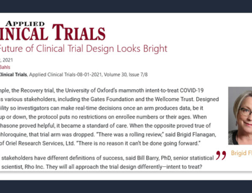 Contributor – The Future of Clinical Trial Design Looks Bright