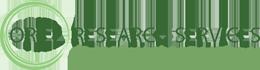 Oriel Research Services Logo